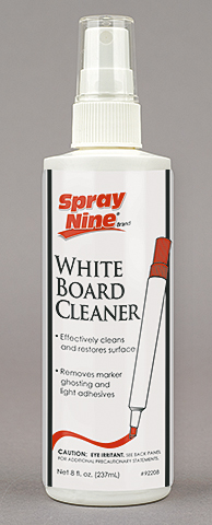 White Board Cleaner: Spray Nine Corp.