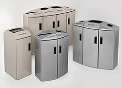 Element Indoor Recycling Stations: Rubbermaid Commercial Products