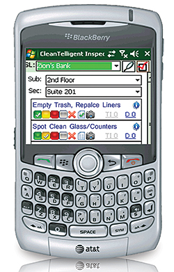 Blackberry Inspection Tool: CleanTelligent Software