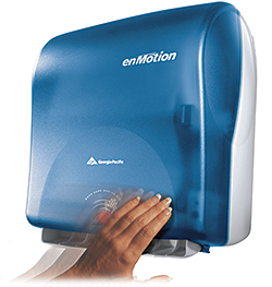 enMotion Touchless Towel Dispenser Line: Georgia-Pacific Professional