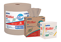 WypAll X60, WypAll L40 and WypAll L30 Wipers: Kimberly-Clark Professional