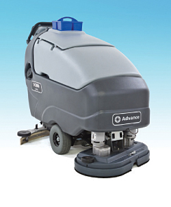 SC750 and SC800 Walk-Behind Scrubbers: Advance