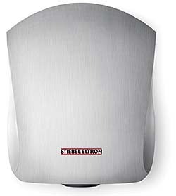 Ultra-quiet Galaxy and high-speed Ultronic hand dryers: Stiebel Eltron Inc.
