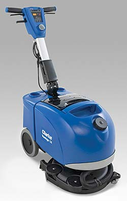 Vantage 14 Battery-Operated Micro Scrubber: Clarke
