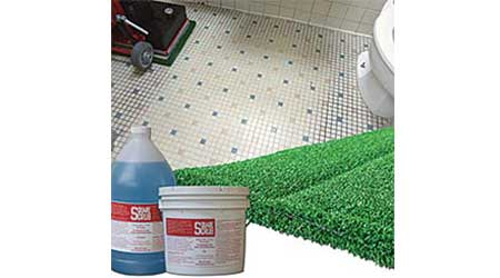 Tile and Grout Wet Pad: Square Scrub