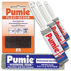 The line of Pumie cleaning tools: United States Pumice Co.
