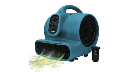 Scented Air Mover: XPOWER Manufacture Inc.