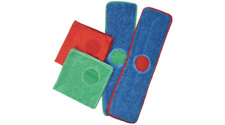 CleanAide Spot Microfiber Towels & Mop Pads: Eurow & O'Reilly Corporation