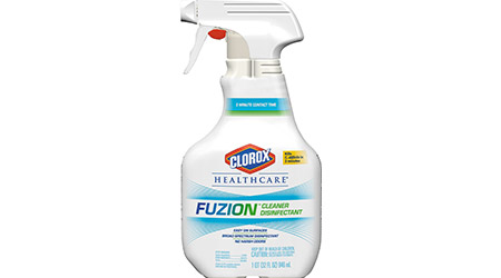 Clorox Healthcare Fuzion Cleaner Disinfectant: CloroxPro