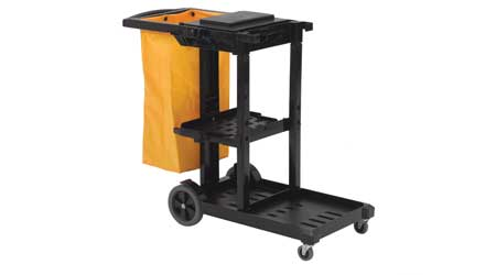MaxiRough Janitor Cart: Nexstep Commercial Products (Exclusive Licensee of O-Cedar)
