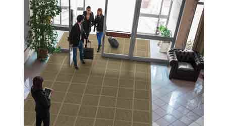 WaterHog Modular Tile Square: M+A Matting