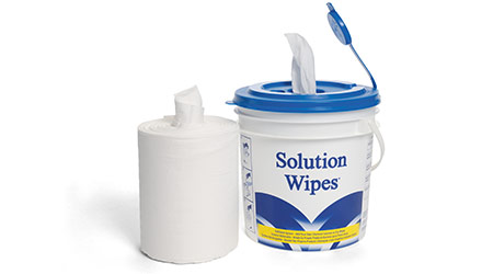 Solution Wipes: Bro-Tex