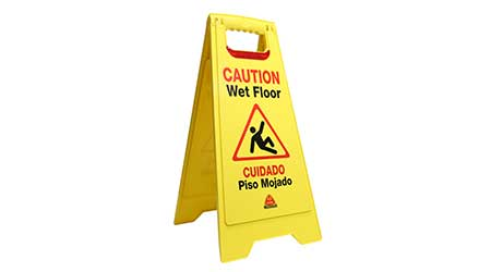Flashing Floor Safety Sign: Nexstep Commercial Products (Exclusive Licensee of O-Cedar)