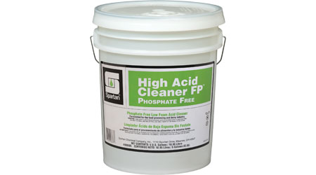 High Acid Cleaner FP Phosphate Free: Spartan Chemical Co. Inc.