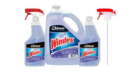 Windex Non-Ammoniated Multi-Surface Cleaner: SC Johnson Professional