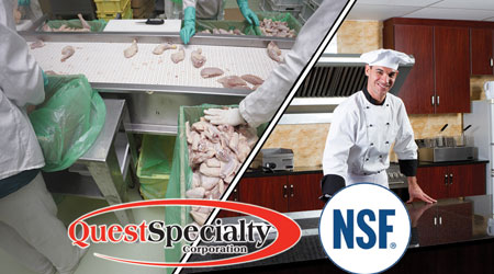 NSF Certified Specialty Chemicals: QuestSpecialty