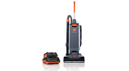 Hoover Commercial HUSHTONE Cordless Upright Vacuum: TTI Floor Care
