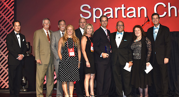 Spartan Selected as Interline Brands Supply Chain Leader of the Year