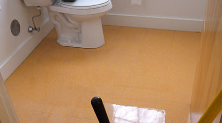 Waxing Ceramic Tile Floors