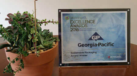GP PRO and Atlanta Airlines Terminal Corporation Win Sustainable Packaging Award for Waste Reduction