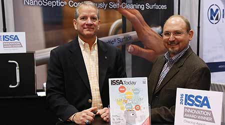NanoSeptic Self-Cleaning Surfaces Win Innovation Award