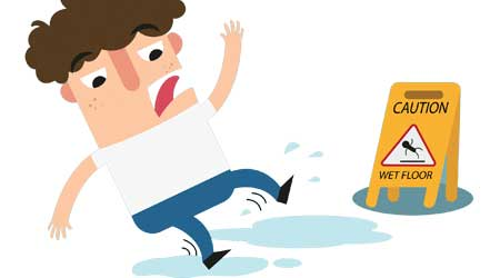 Identifying Slip, Trip And Fall Hazards