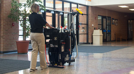CASE STUDY: Technology Company Stops Using Mops to Clean Floors