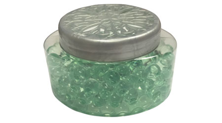 Odor-Absorbing Gel-bead Jars Gain Popularity