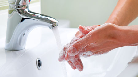 Fighting Colds And Flu With Proper Hand Hygiene