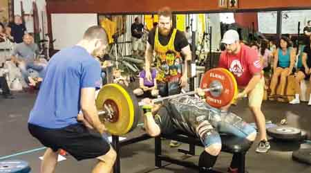 Freetime: Asher Braaten,KB Commercial Products, Competitively Powerlifts