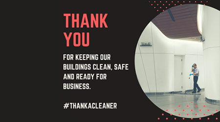 Take A Minute To Thank A Cleaner