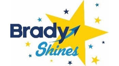 Brady Shines Star Logo