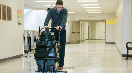 Technology Company Stops Using Mops To Clean Floors