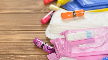 Push For Free Feminine Hygiene Products