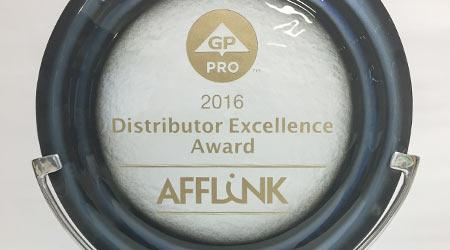 AFFLINK Wins Distributor Excellence Award