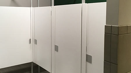 CASE STUDY: High School Transitions To Contemporary Look In Restrooms