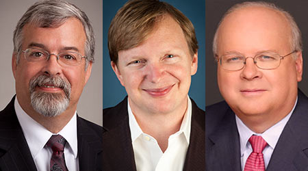 Karl Rove, Jim Messina Join ISSA Keynote Line Up