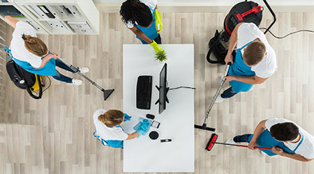 Survey: Office Workers Take On Interim Cleaning Duties