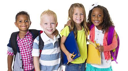 Photo of Elementary School Kids Group