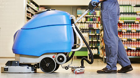 Delta-Q Technologies Partners With ORBOT LiFe Floor Machines