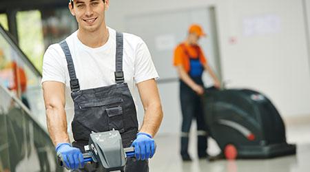 training floor polisher