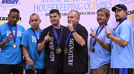 Annual Recognition Event Gives Housekeepers Reason To Cheer