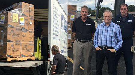 Dawnchem Adds to Hurricane Relief Efforts
