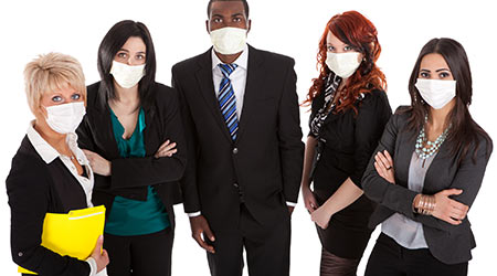 Survey: Germiest Areas Within Workplaces