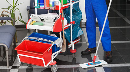 Must-Have Tools, Products For Janitorial Carts