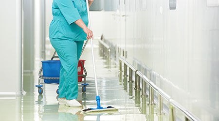 Growth In Healthcare Boosts Demand For Industrial Cleaning
