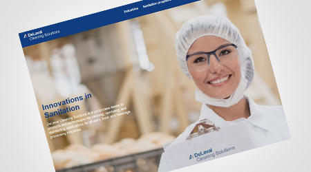 DeLaval Cleaning Solutions Launches New Website