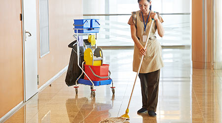 Cleaners Lead The Fight Against Outsourcing