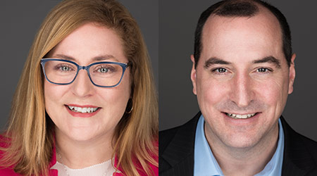 Brady Announces Ryan Banks and Michelle Harrison to Senior Management Promotions