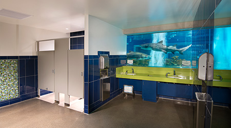 Shark Attraction Earns Facility Best Restroom Title